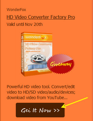 wonderfox hd video convverter giveaway