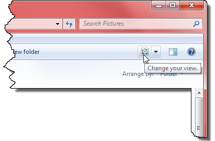 change your view explorer button