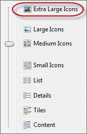extra large icons