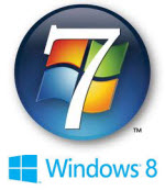 windows 7 -windows 8 logo