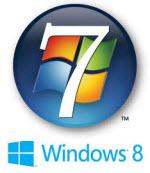 windows 7 -windows 8 logo
