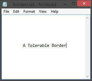 fat-borders-tolerable-size