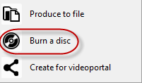 ASS3 - burn disc