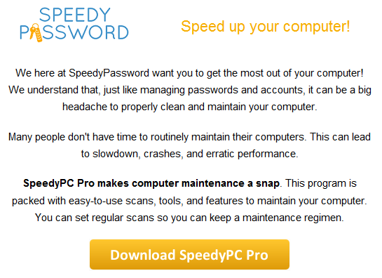 sppedy password-speedypc pro