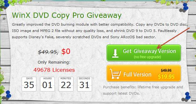 winx dvd copy pro - gway 1