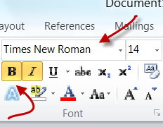 Font-Group