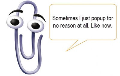 clippy with text