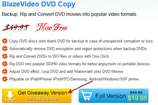 dvdcopy giveaway version