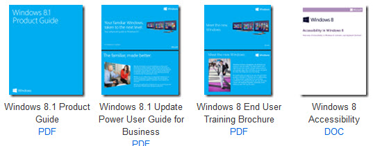 MS free ebooks - windows 8