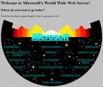 Turn Back Time – Microsoft Presents Original 1994 Home Page