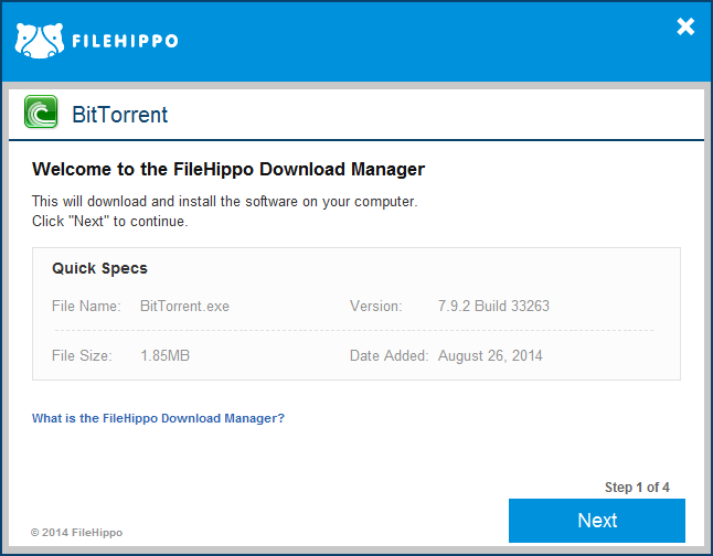 filehippo - download manager