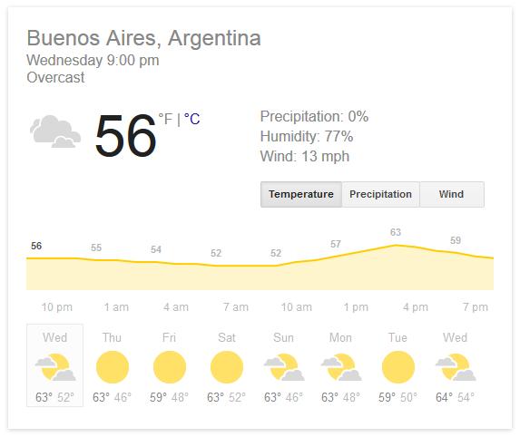 google - weather