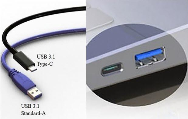 Image result for usb type c vs usb 3.0