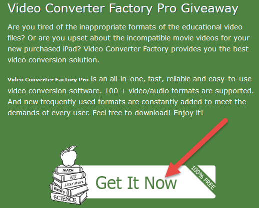 wonderfox giveaway - video converter