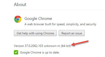 chrome 64-bit - version