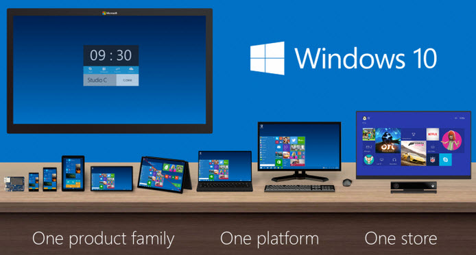 windows 10 - main