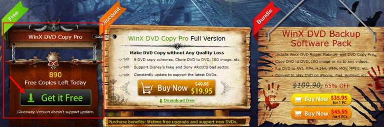 winx dvd copy pro - giveaway