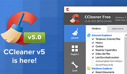 ccleaner - 5.0 beta