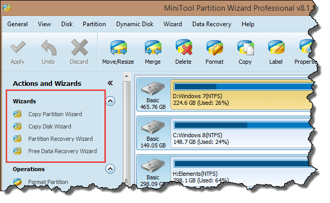 mt partition wizard - wizards