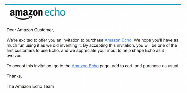 echo invitation