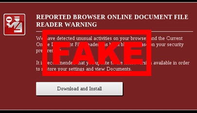 feature -Browser Warning