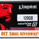 DCT Xmas Giveaway: Kingston SSDNow V300 Series 120GB SATA III Internal SSD
