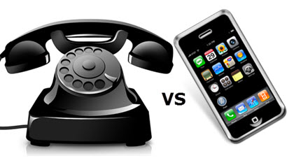 cell phones vs land lines Landlines vs  cellphones: it's  pinpoint an approximate latitude and longitude of wireless phones  burglar after he left his cell phone plugged in at the scene.