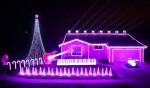 Amazing Star Wars Christmas Light Display (video)