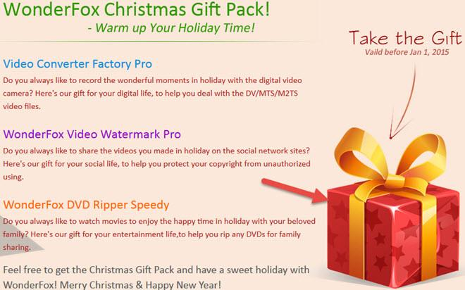 wonderfox xmas gift pack