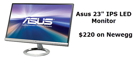 asus 23 IPS monitor