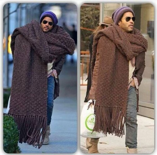 scarf hipster level - 100