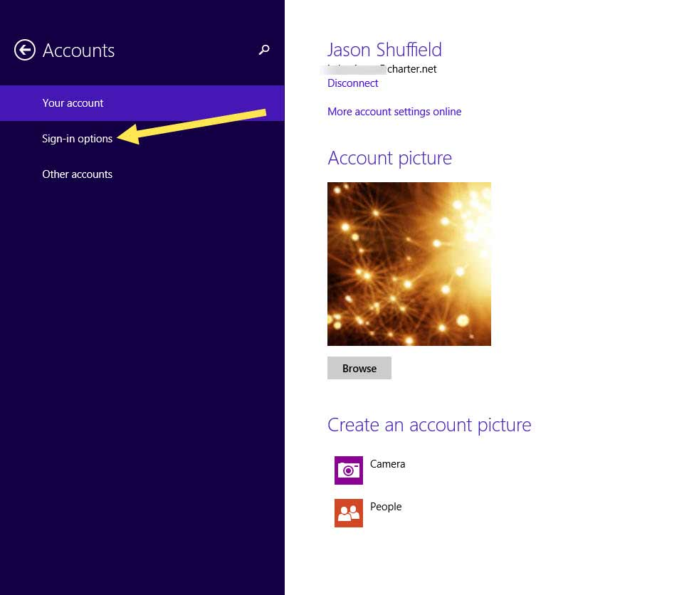 How to change your account password in windows 8.1 -6