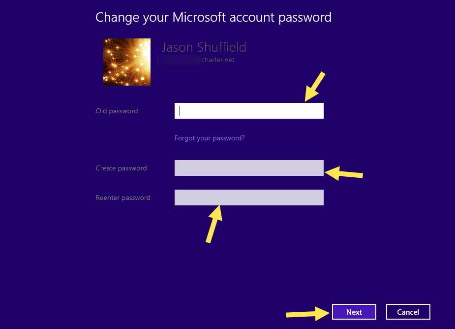 How to change your account password in windows 8.1 -9