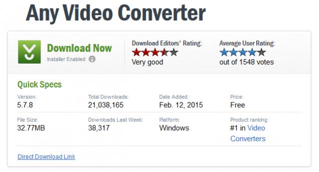 download.com listing