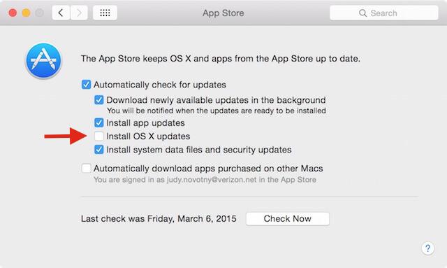 install os x updates