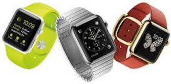 three apple watch styles