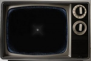 white-dot-on-tv