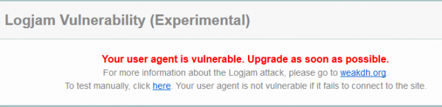 logjam report 2
