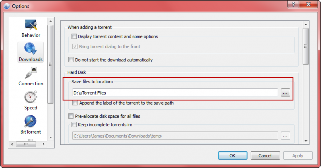 qtorrent settings 1