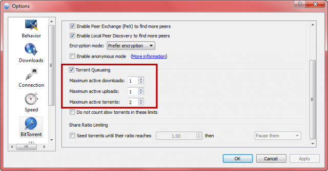 qtorrent settings 2