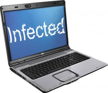 computer infected