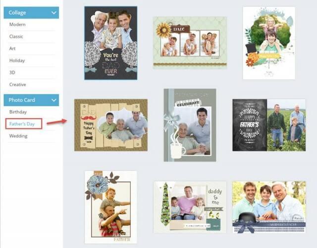 FotoJet Card Templates