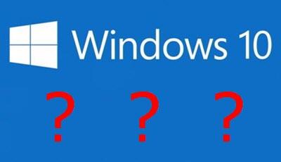 Windows-10-questions