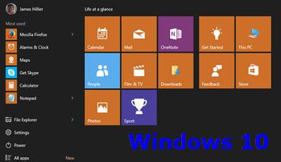 windows10-start menu-feature