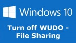 Turn Off Peer-to-Peer Update & App Sharing in Windows 10