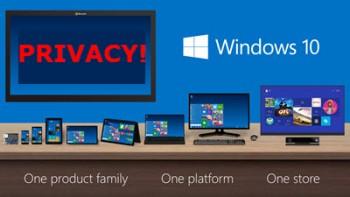 Windows 10-privacy