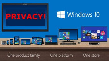 Windows 10-privacy