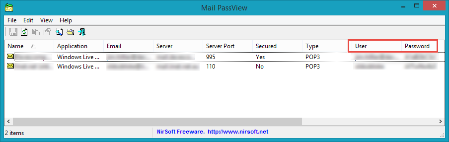"Find Your Email Password(s) with ""MailPassView"" 