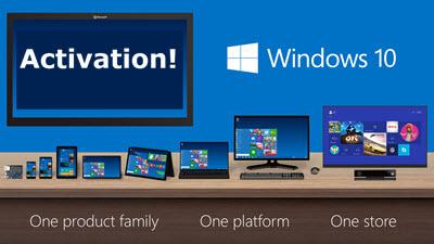 Windows 10-activation