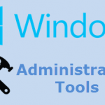 Administrative Tools – Windows Firewall With Advanced Security